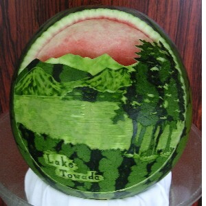 Amazing Watermelon Fruitcarving