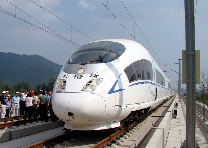 Wuhan-Guangzhou-high-speed-train