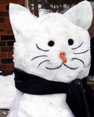 cat-snowman