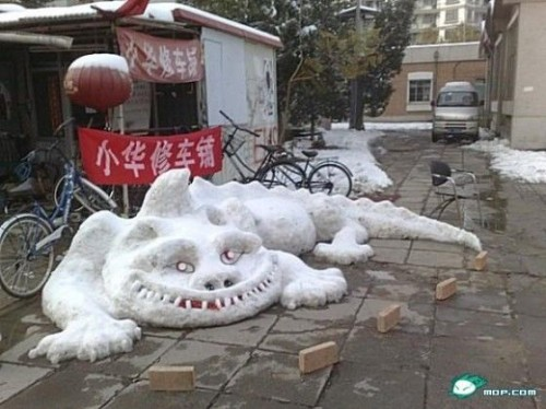 China Snowman