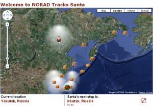 Norad Santa