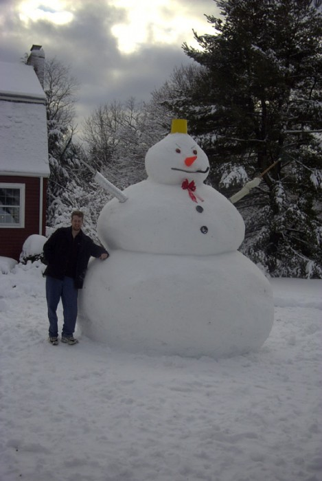 Thick Snowman
