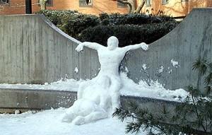 Bizarre Snowman 2