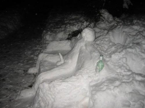 Bizarre Snowman 4
