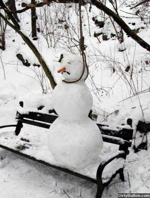 Bizarre Snowman 6