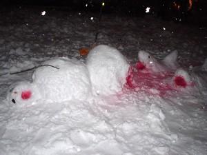 Bizarre Snowman 7