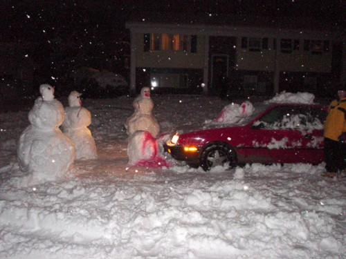 Bizarre Snowman 8