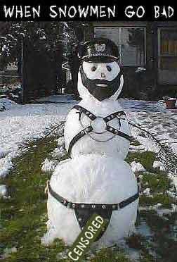 Bizarre Snowman 10