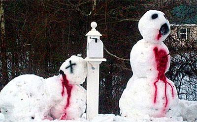 Bizarre Snowman 13