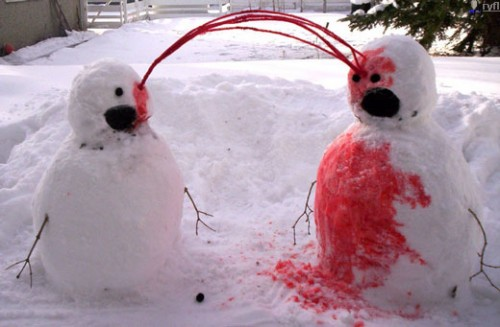 Bizarre Snowman 15