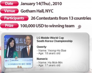 LG Worldcup