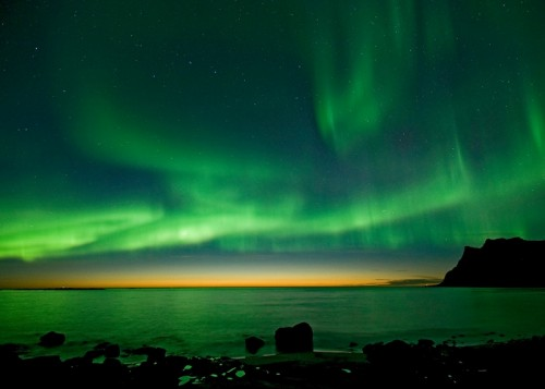 Green Artic Lights