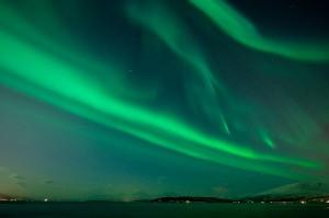 Northern Lights over Artic