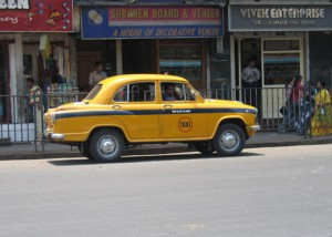 Kolkata Taxi West Bengal India