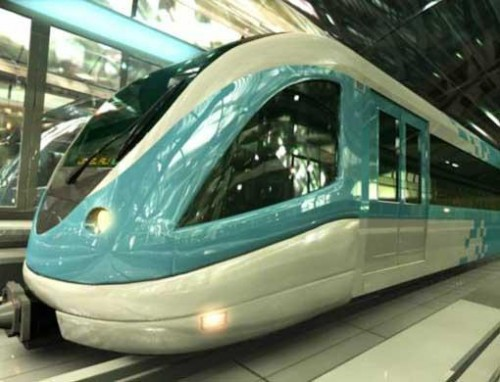 Dubai Metro 01