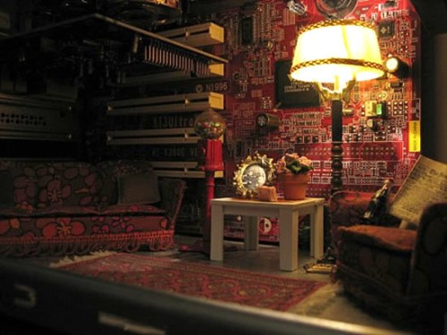 Miniature Room inside PC