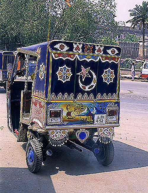 Riksha Taxi Lahore Pakistan
