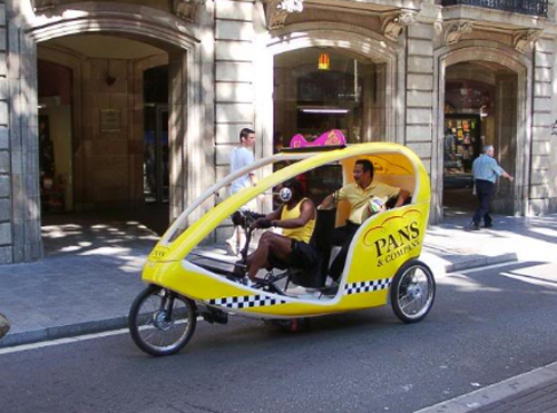 Bicycle Taxi Spain