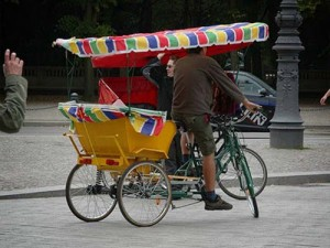 Bicycle Taxi Berlin Germany
