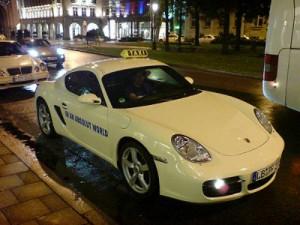 Porshe Taxi