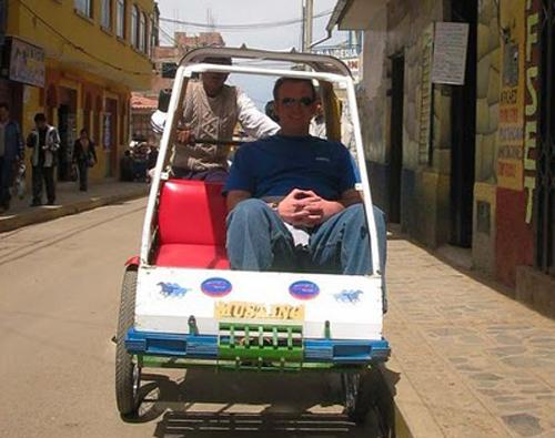 Taxi Puno Peru
