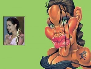 Celebrity Caricature 02