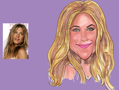 Celebrity Caricature 11