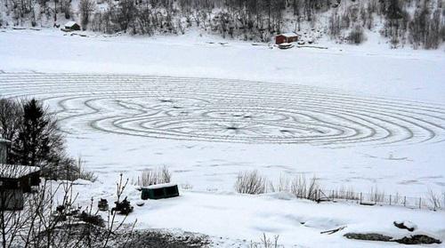 Ice Crop Circle