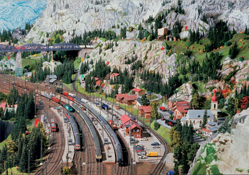 model train set at05 The Miniatur Wunderland Hamburg   The Worlds Biggest Model Train Set