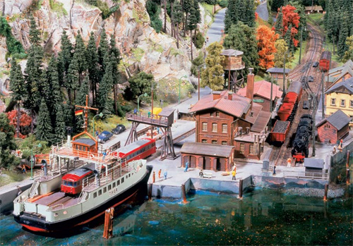 model train set at07 The Miniatur Wunderland Hamburg   The Worlds Biggest Model Train Set