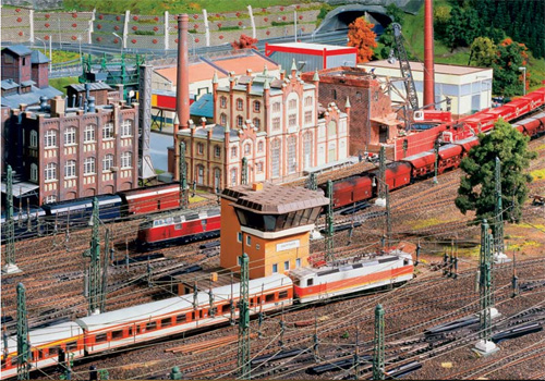 model train set kn03 The Miniatur Wunderland Hamburg   The Worlds Biggest Model Train Set