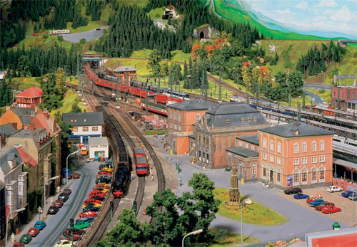 model train set kn05 The Miniatur Wunderland Hamburg   The Worlds Biggest Model Train Set