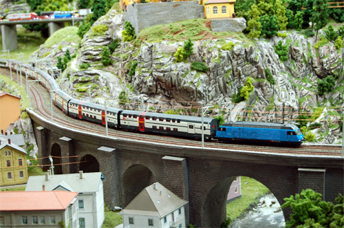 Model Train Set