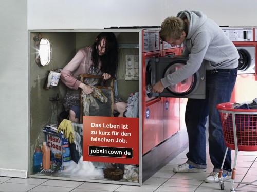 waschautomat 500x375 Lifes too short for the wrong job   Cool and Creative Ads