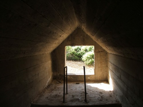 Inside Ventilation shafts.