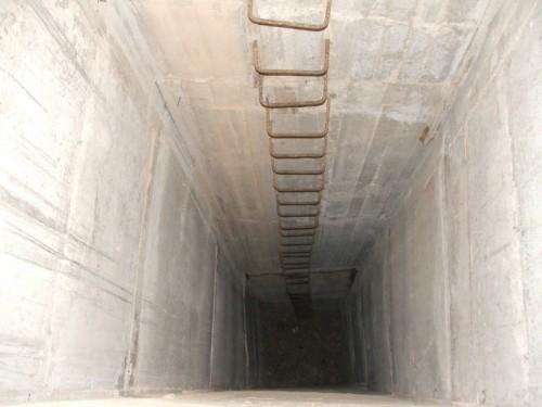 Ventilation shafts.