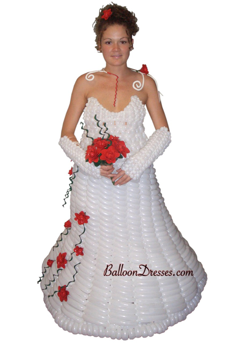 BalloonDresses05 Balloons Fashion &ndash; Balloon Dresses by JoAnn Gray