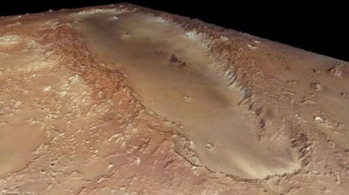 Mars Crater 02
