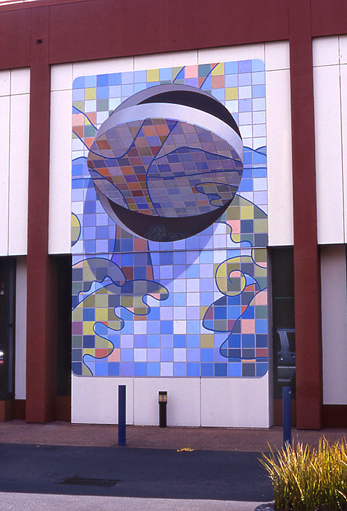 3D Building Mural Art by John Pugh