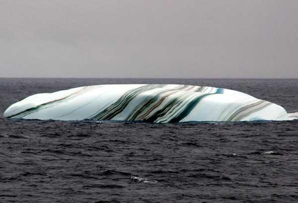 Striped Icebergs 01