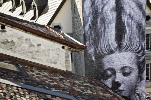 JR MANRAY Vevey MG 9525 500x333 Amazing Street Art by French Artist JR