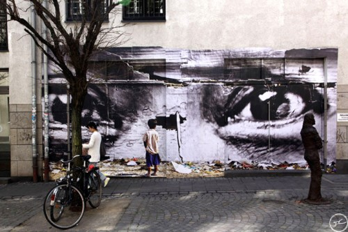 Springmann Varol street 500x333 Amazing Street Art by French Artist JR