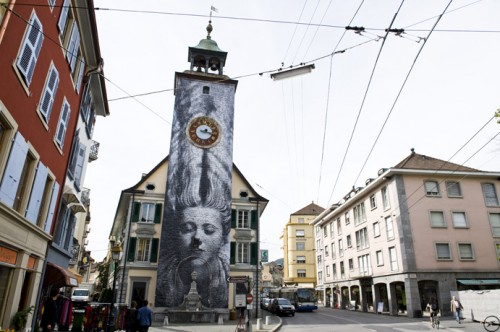 Vevey Man Ray JR DSC7101 500x332 Amazing Street Art by French Artist JR