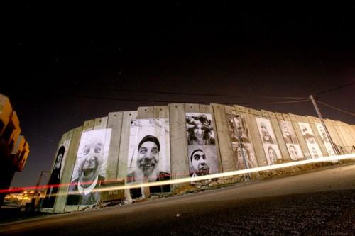 palestinianside 500x333 Amazing Street Art by French Artist JR