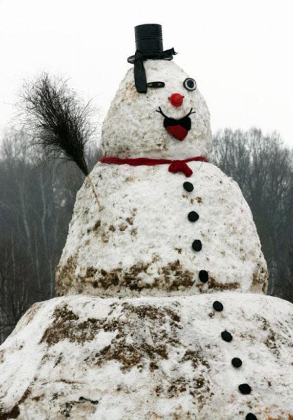 Poland Largest Snowman