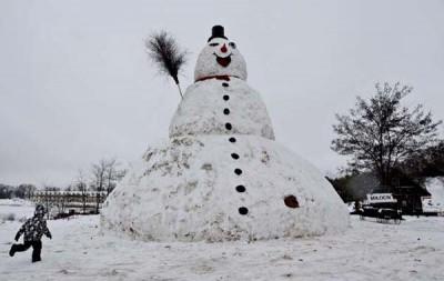 Milocinek Giant Snowman