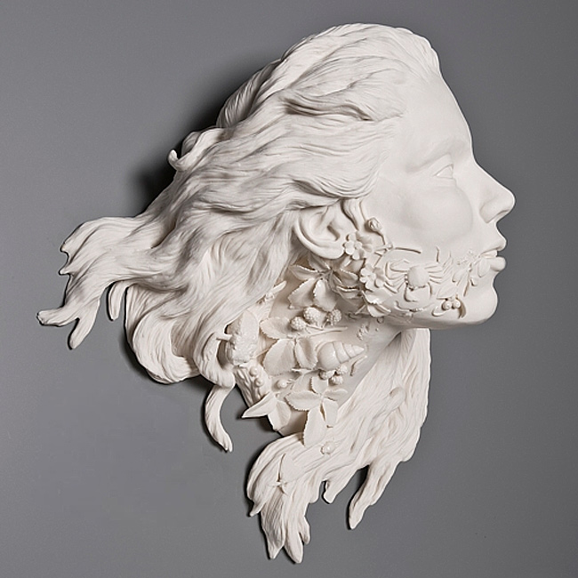 Amazing White Sculptures Made From Porcelain