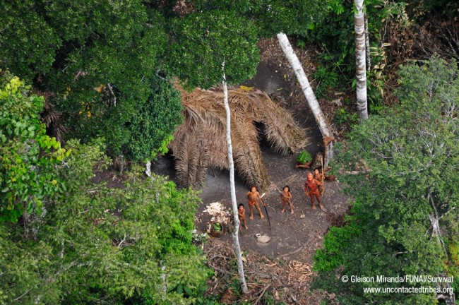 Breathtaking photos of one of the world's last uncontacted tribes