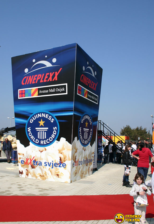 The Biggest Popcorn Box In The World