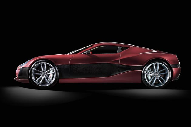 The Concept_One - World's Fastest Electric Car